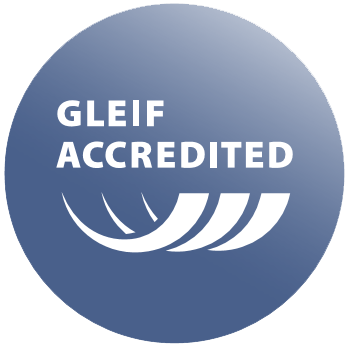 GLEIF Accredited.